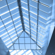 Blue ceiling in office — Stock Photo #1330343