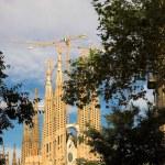 Sagrada familia in Barcelona — Stock Photo