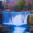 Stock Photo: False waterfall