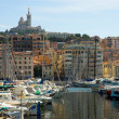 Yachts in Vieux port in Marseille — Stock Photo #1330641