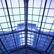 Foto de Stock  : Ceiling inside modern office