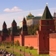 Stock Photo: Traffic near Kremlin wall,