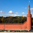 Kremlin wall, Moscow — Stock Photo