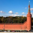 Stock Photo: Kremlin wall, Moscow
