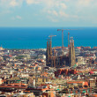Panorama in Barcelona — Foto Stock