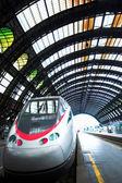 Fast train in Milan — Stock Photo