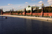 Moskva river, Kremlin, Russia, Moscow — Stock Photo