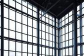 Lege hoek in office centrum — Stockfoto