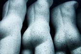 Tři panáky — Stock fotografie