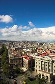 Ramblas Barcelona dikey, — Stok fotoğraf