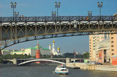 Bridge in center of Moscow — Stock Photo
