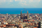 Panorama in Barcelona — Stock Photo