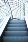 Escalator in shopping center, Moscow — Stock Photo