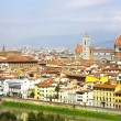 Panorama in Florence — Foto Stock