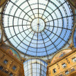 Gallery Vittorio Emanuele II - Stock Photo