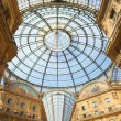 Gallery Vittorio Emanuele II — Stock Photo