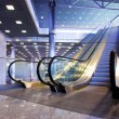 Escalators in exhibition — Stockfoto