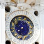 Astronomical clock in Venice — Stock Photo #1380341