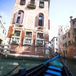 Gondola nose on water — Photo