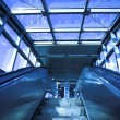 Move escalator in modern office — Stock Photo #1380584