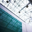 Stock Photo: Glass ceiling in office