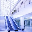Empty escalator — Stock Photo #1381803