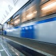 Train on underground station — Stock Photo #1381812