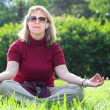 Woman meditate -  