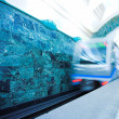 Train on underground station — Stock Photo #1381992
