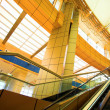 Fast moving escalator — Stock Photo #1382074