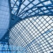 Abstract blue ceiling interior — Stock Photo #1388680