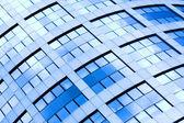 Abstract diagonal crop of skyscraper — Stock Photo