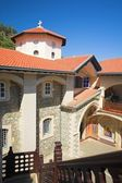 Kikkos Monastery in moutains of troodos — Stock Photo
