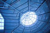 Ceiling inside modern office — Stock Photo