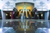 Tunnesl and escalator — Stock Photo