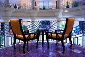 Armchairs in hotel — 图库照片