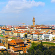Panorama in Florence - Stockfoto