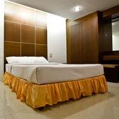 Hotel bedroom interior — Stock Photo