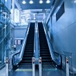 Stock Photo: Two escalators in trade center