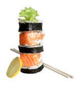 Sushi rolls — Stock Photo