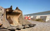 Godet d'une excavatrice — Photo