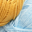 Closeup of hanks wool — Stock Photo