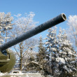 Old Soviet Union tank — Stock Photo #1807195