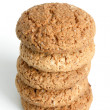 Royalty-Free Stock Photo: Stack of oatmeal cookies