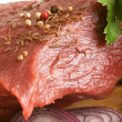Fresh raw beef meat - Stock Photo