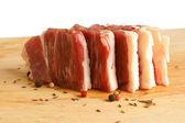 Fresh raw beef meat — Stockfoto