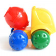 Concrete mixer toy — Stock Photo