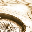 Royalty-Free Stock Photo: Old compass