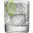 Royalty-Free Stock Photo: Cocktail with slice of lime