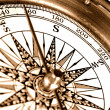 Vintage compass — Stock Photo #1205775